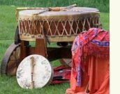 The Grandmother drum will be with us