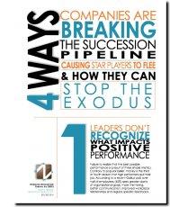 Companies Breaking Succession Pipeline