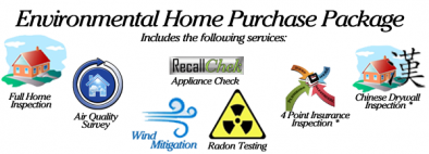 Environmental Home Purchase PKG from Kross Inspectors
