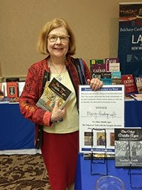 Photo of Mary Pendergraft, winner of Bolchazy-Carducci Publishers CAMWS book drawing