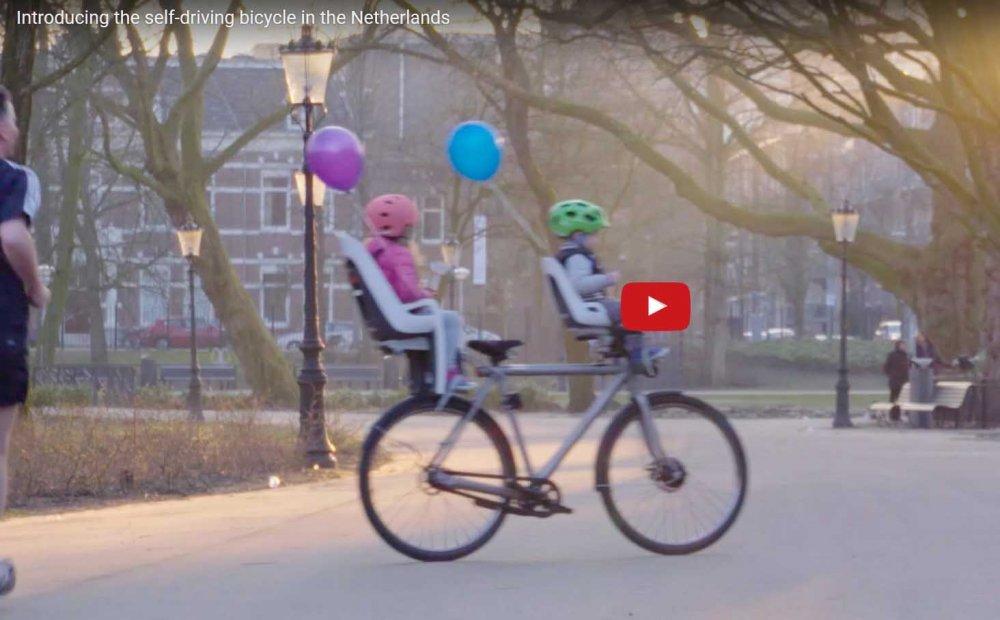 Google Self Driving Bike