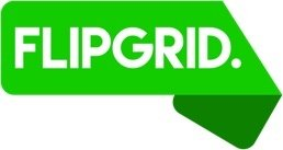 Flipgrid logo and link to flipgrid website