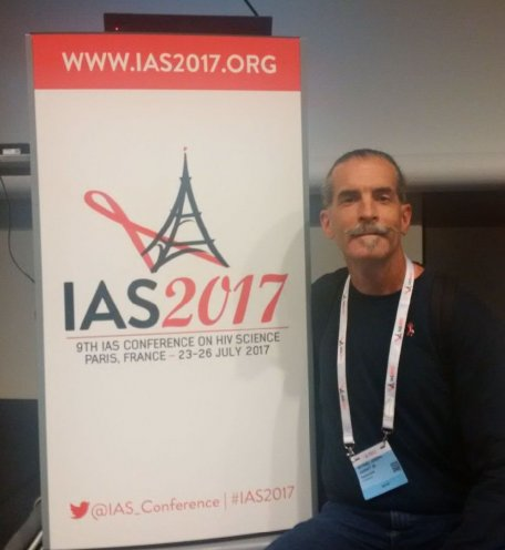 WNCAP Michael Harney at the International AIDS Society Conference on HIV Science