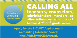 NCWIT educator link