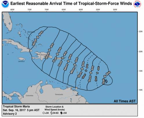 National Hurrican Center Link from Kross Inspectors