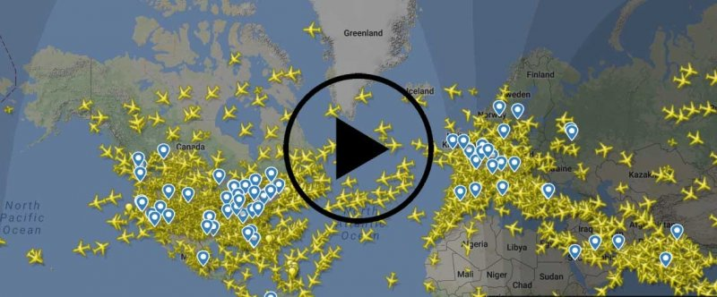 Aircraft all over the world