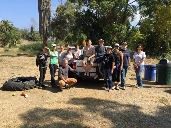 Volunteers at Arroyo Burro Open Space