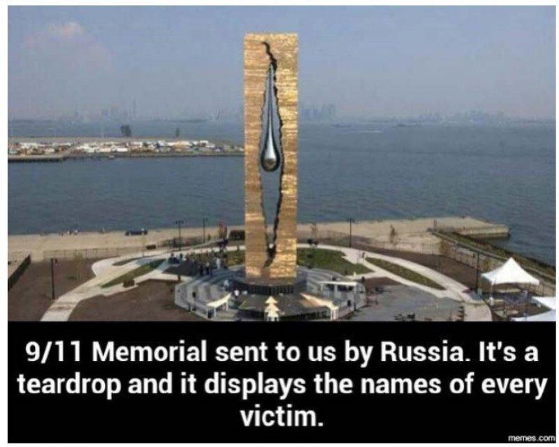 Russian Memorial for 9-11