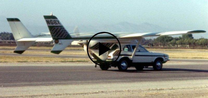 Pinto in flight