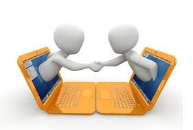 computer meeting image