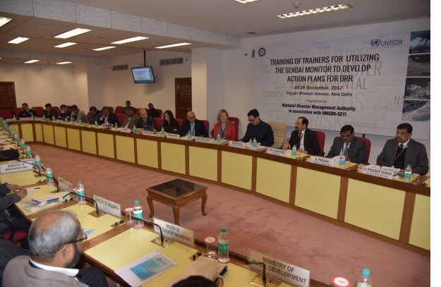 DKI APCSS supports United Nations workshop on disaster risk reduction in India photo