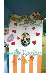 Pawfest Kissing booth