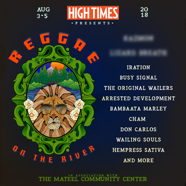 REggae on the River line-up