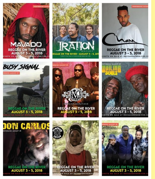 Reggae on the Rivier