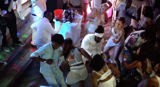 All white party reggae sumfest