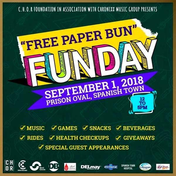 Asadenaki, Free Paper Bun Day in Spanish Town, Reggae music