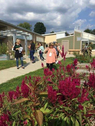 IDES garden tour