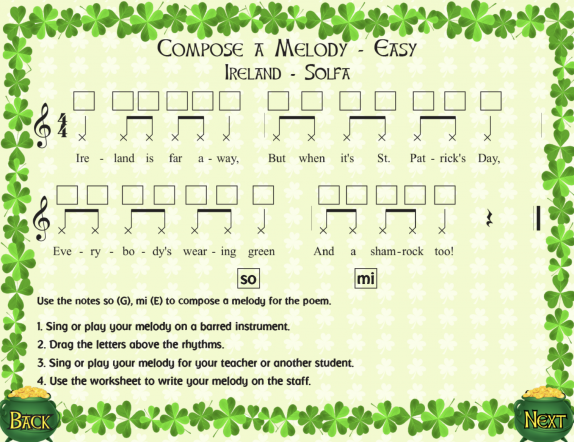 St  Patricks Day Lesson Ideas | Themes and Variations
