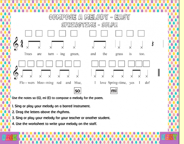 Easter Unit at MusicplayOnline: | Themes and Variations