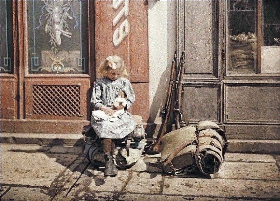 Reims, France, 1917