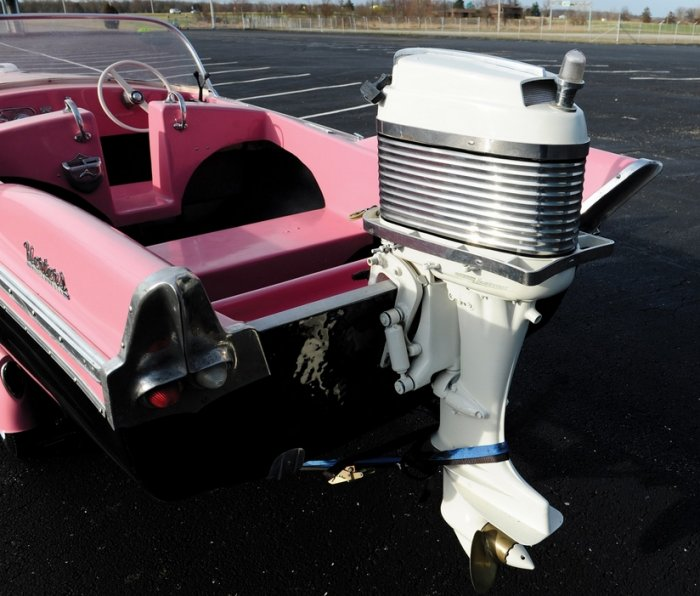 1958 Herter's Flying Fish with Merc Outboard & Trailer