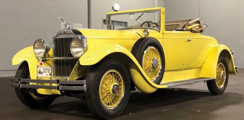 1929 Packard Standard Eight Convertible