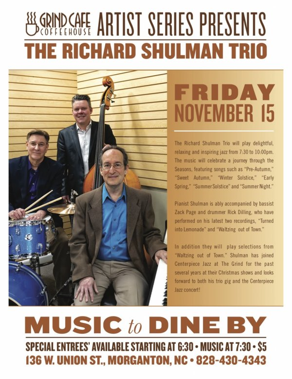 Richard Shulman Trio at The Grind