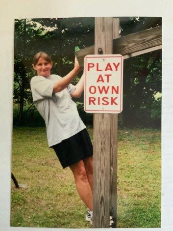 UUCSV member Phyllis Robertson (circa 2001)