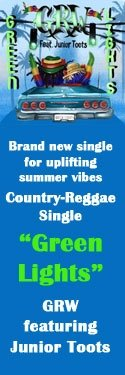 "Country-Reggae Single ""Green Lights"""