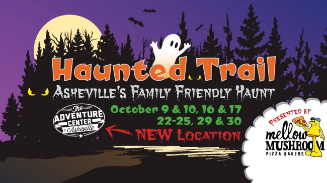 Haunted Trail at the Adventure Center of Asheville
