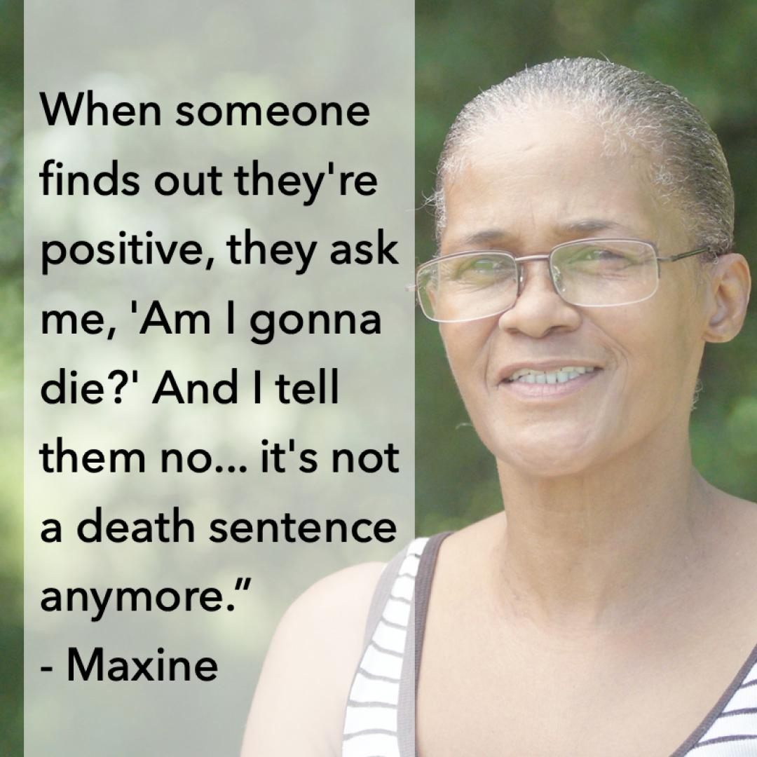 Maxine WNCAP Mini Docs World AIDS Day 2020