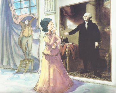 Illustration From Dolley Madison