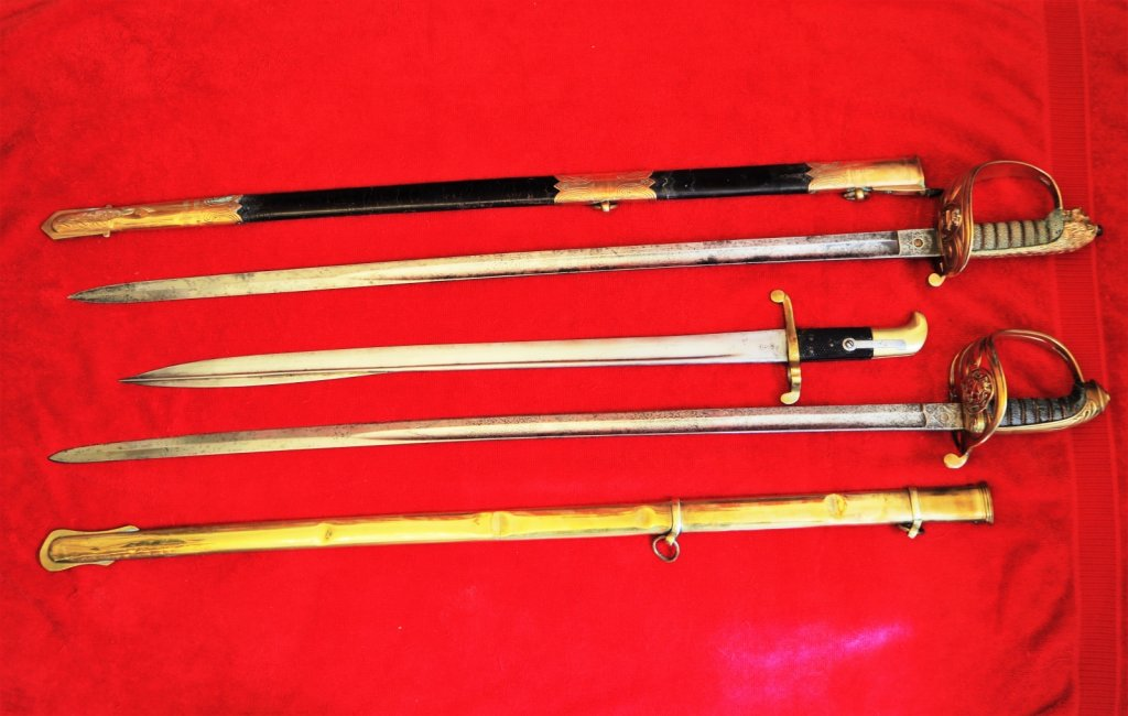 Bayonet and Swords